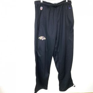Baltimore Ravens Nike Dri-Fit NFL Black Sweatpants